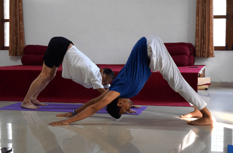 Yoga in Room
