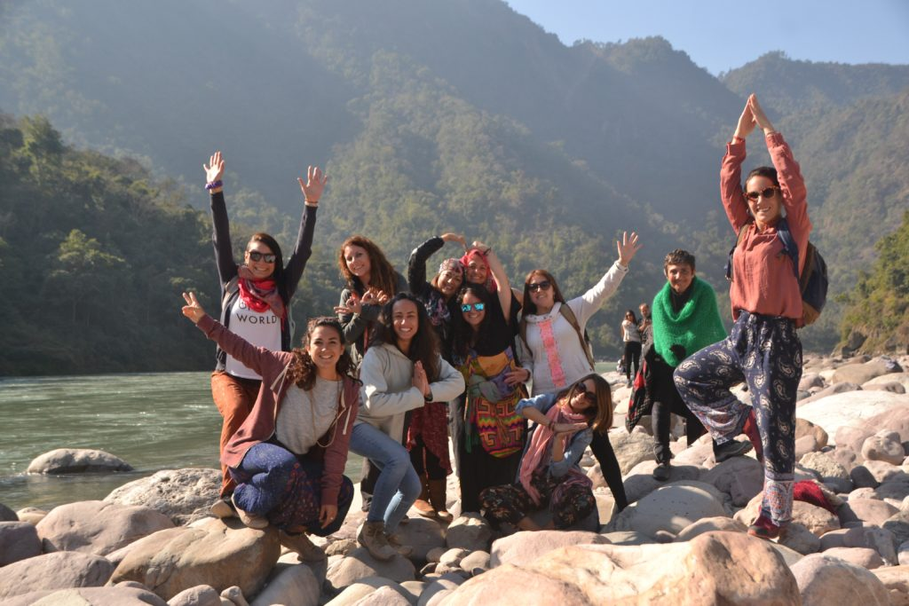 Outdoor Activity Rishikesh yogis